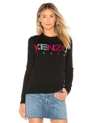 KENZO Black Classique Sweater