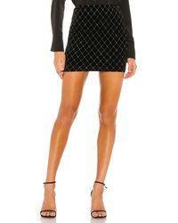 superdown Black Odyssa Mini Skirt