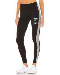 Recheck pack leggings PUMA de color Black