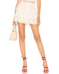 LoveShackFancy Ruffle Mini スカート Multicolor
