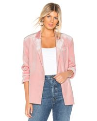 Norma Kamali Pink Double Breasted Jacket
