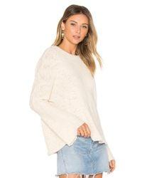 Michael Lauren Multicolor Palmer Bell Sleeve Sweater
