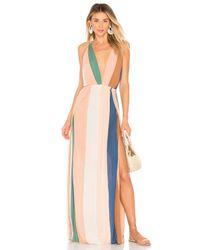 Indah Multicolor River Maxi Dress