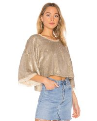 Free People - Multicolor Champagne Dreams Tee - Lyst