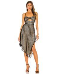 Nbd Black Lima Midi Dress