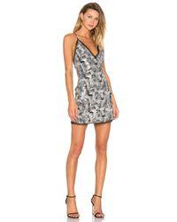 Nbd Metallic Sloan Dress