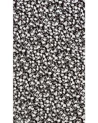 Line & Dot - Black Camellia Slash Dress - Lyst