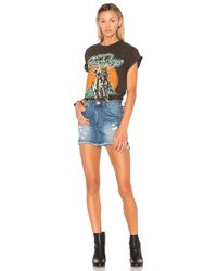 One Teaspoon - Blue 2020 Mini Skirt - Lyst