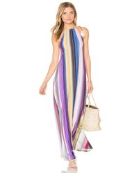 Pilyq Purple Reign Long Dress