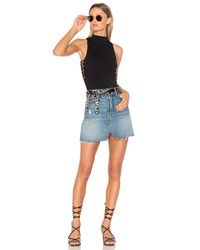 GRLFRND Blue X Revolve Milla Denim Mini Skirt