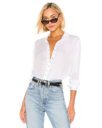 Top Boutonné Button Down Pistola en coloris White