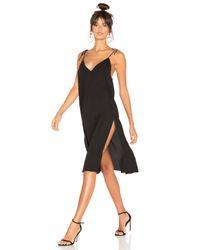 Motel Black Frida Dress
