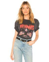 Camiseta vintage bing Anine Bing de color Black