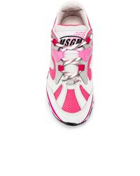 MSGM Pink Attack Sneaker