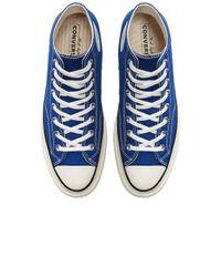 Converse Chuck 70 ハイトップスニーカー Blue
