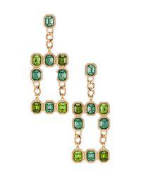 Pendientes largos diva 8 Other Reasons de color Green