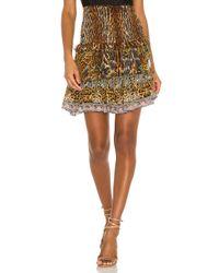 Camilla ミニスカート Multicolor