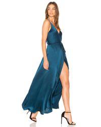Yumi Kim Blue Rush Hour Maxi Dress