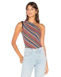 Bailey 44 Blue Striped Nassau Bodysuit