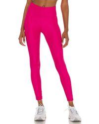 Nike Pink 7/8 Textured Legging