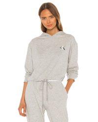 Calvin Klein One Basic Lounge スウェットシャツ Gray