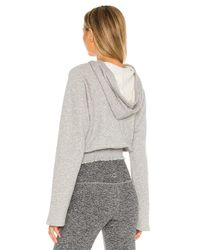 Beyond Yoga Let's Smock About It パーカー Gray