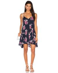 Acacia Swimwear Blue Bahamas Dress