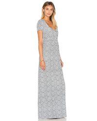 American Vintage - Gray Yacqui Maxi Dress - Lyst