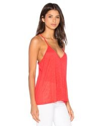 Amour Vert - Red Giselle Tank - Lyst