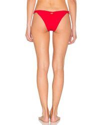 Beach Bunny - Red Rib Tide Top - Lyst