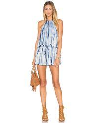 Blue Life Blue Island Crepe Halter Dress