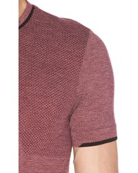 Brandblack Multicolor Seamless Merino Wool Tee for men