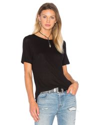 Cheap Monday | Black Rim Tee | Lyst