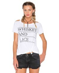 Chaser White Whiskey & Lace Tee