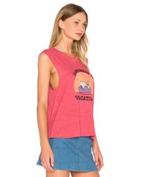 Daydreamer - Red Happiness Is Vacation Tank - Lyst
