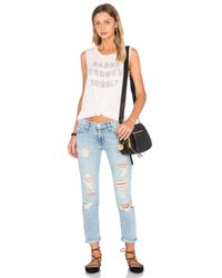 Daydreamer Multicolor Babes Brunch Bubbly Jersey Tank Top