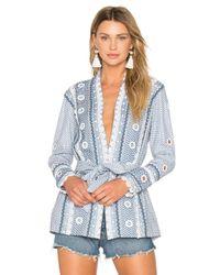 Dodo Bar Or - Blue Zur Kimono - Lyst