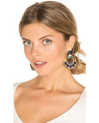 Elizabeth Cole Blue Caden Earring