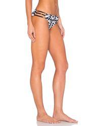Ella Moss - Blue Zaire Side Strap Bikini Bottom - Lyst