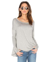 Feel The Piece | Gray Mocking Bird Top | Lyst