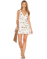 Free People | White Mini's For You Dress | Lyst