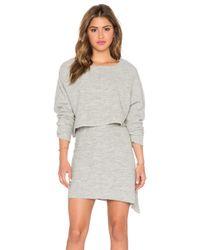 Free People | Gray Sweet Jane Sweater Set | Lyst