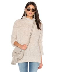 Free People | White She's All That Sweater | Lyst
