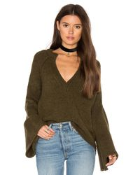 Free People | Natural Lovely Lines Pullover | Lyst