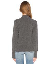 G-Star RAW - Gray Mock Neck Sweater - Lyst