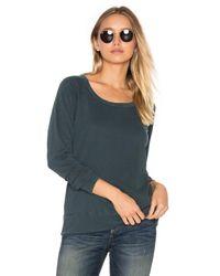 James Perse | Multicolor Classic Raglan Sweatshirt | Lyst