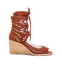 Jeffrey Campbell | Brown Rodil Wedge | Lyst