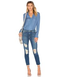 L'Agence - Blue Marcelle Slim Fit Jeans - Lyst