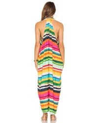 Lenny Niemeyer Multicolor Deep V Dress
