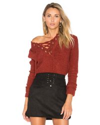 Lovers + Friends Red X Revolve Rocky Sweater